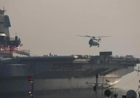 直升机航母甲板起降意味着什么?