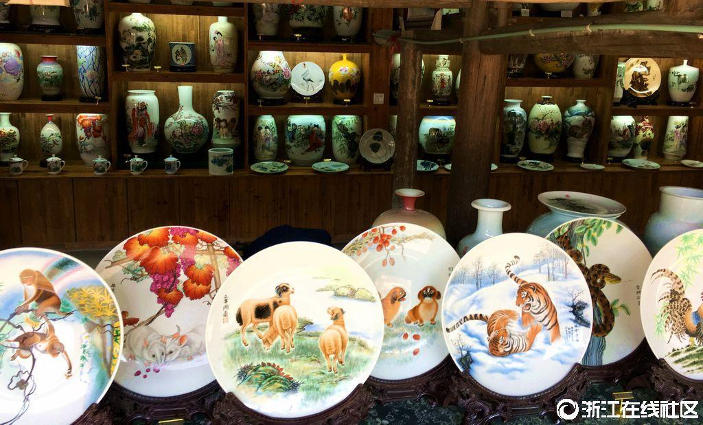 【行行摄摄】古窑的手绘画瓷器