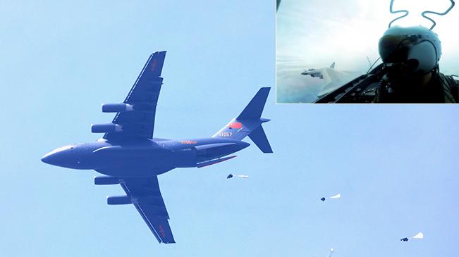 """空军用""""生命线""""引领新时代练兵备战新航迹"""