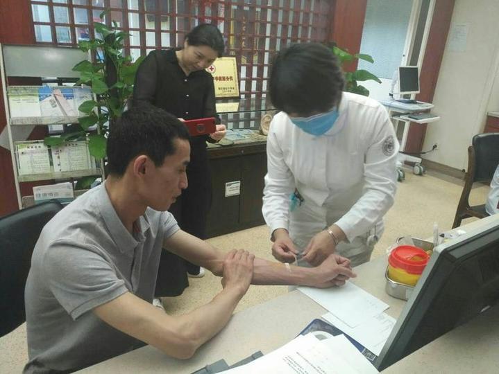 大爱无疆,江山医生捐献造血干细胞救人