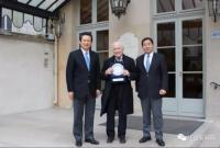 法国总统签署授勋令!授予江山籍企业家荣誉军团骑士勋章!