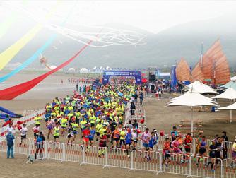 岱山海岬半程马拉松