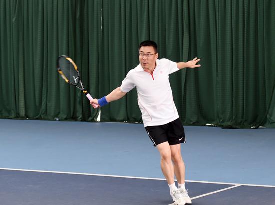 全省新闻界网球邀请赛临安收拍