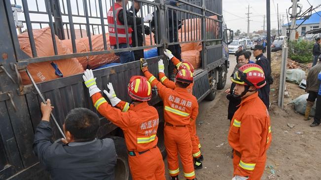 吉林松原:抗震救灾工作稳步展开