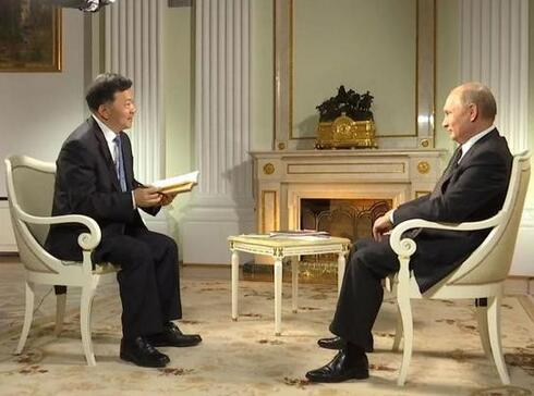 中央广播电视总台台长专访普京