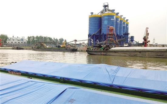 上虞港区曹娥作业区西区工程二期投入使用
