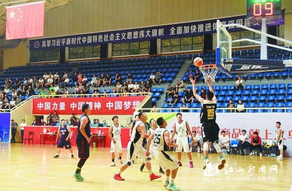 """省""""篮协杯""""篮球赛在江举行"""