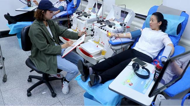 为献血者画像