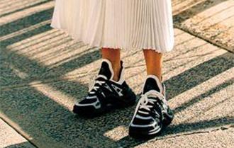 向爹爹借双时髦鞋