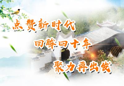 点赞新时代 回眸四十年 聚力再出发——第三届庆元网络文化季活动