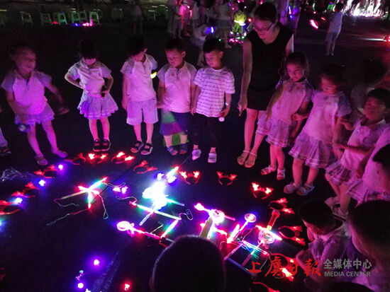 """华维文澜幼儿园开展""""勇敢者之夜""""父亲节特别策划活动"""