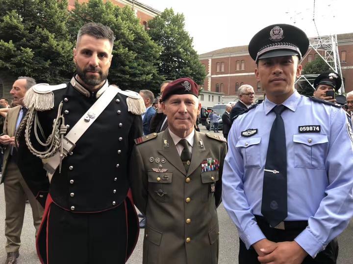 意大利3周 走出国门巡逻的金华警察带着故事回家