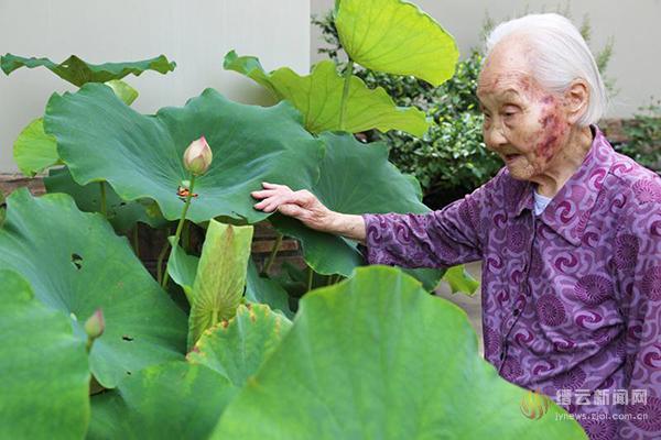 百岁寿星李丽菊的幸福生活