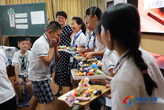 丽水市小学美术课堂教学评比活动在县实验小学举行