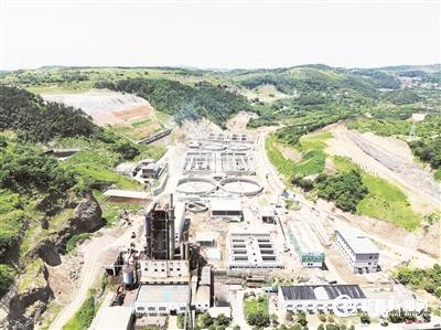 嵊新污水处理厂二期扩建工程即将通水试运行