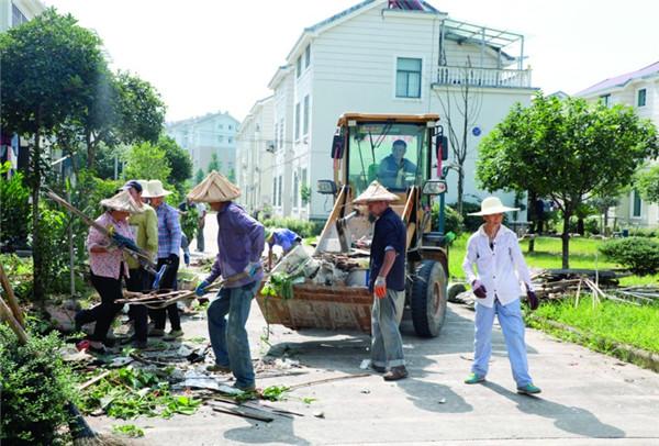开展集中整治 提升小区环境