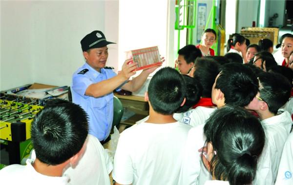 禁毒宣传教育活动进校园