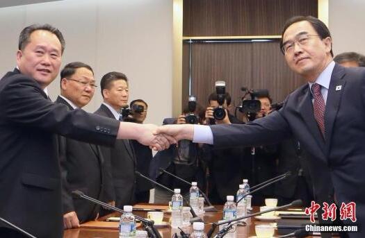韩朝今将举行山林合作会谈