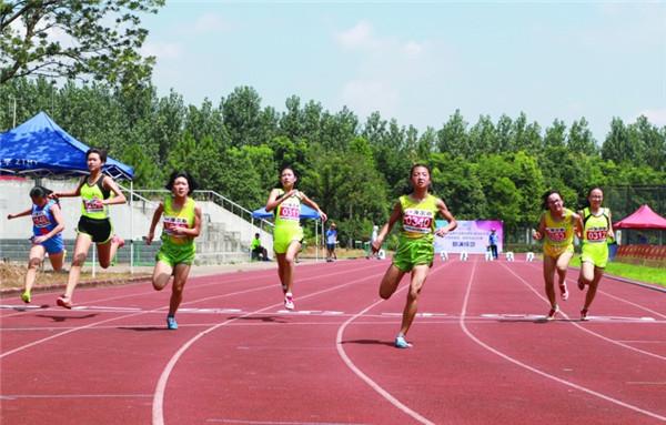 浙江省小学生趣味田径比赛在龙游举行