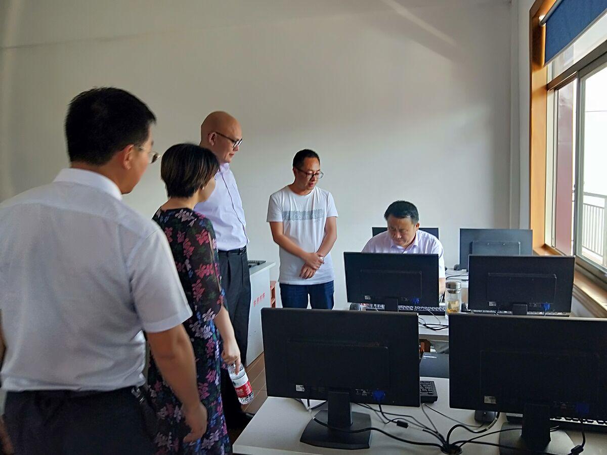 绍兴市司法局踏看金庭镇社区服刑人员技能培训基地