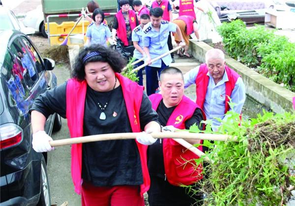 个协党员志愿者助力省文明县城复评