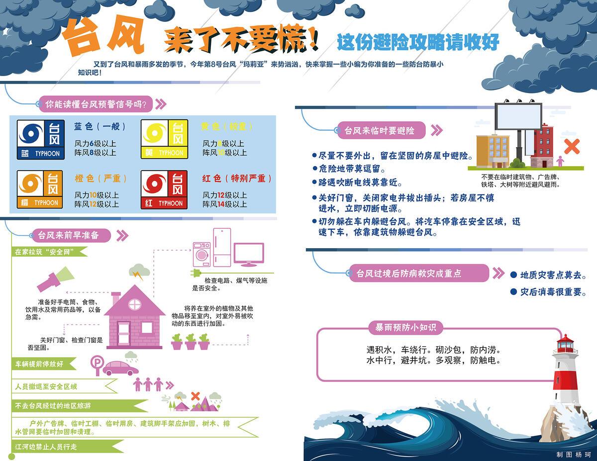 【特刊】台风来了不要慌!