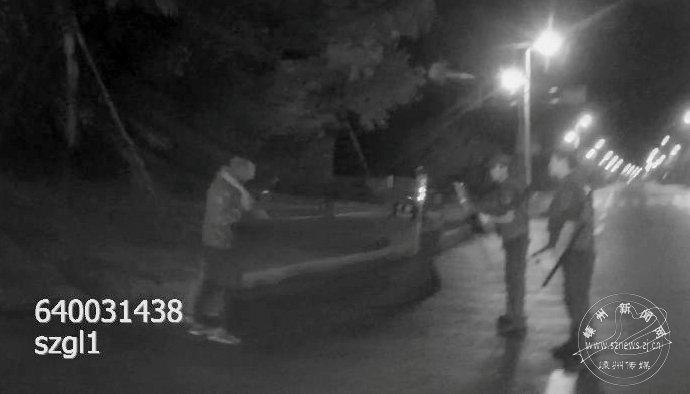 酒后持刀闹事还跟警察对峙 贵州籍男子被刑拘