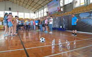 县政协系统第六届乒乓球联谊赛暨趣味运动会举行