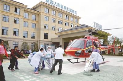 县人民医院:跑出就医新速度