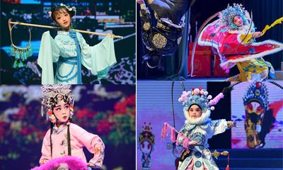 中国少儿戏曲小梅花荟萃活动