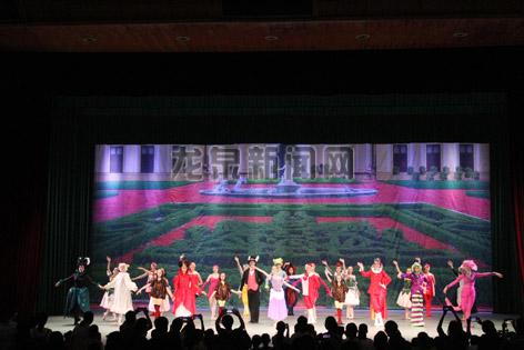 俄罗斯少儿芭蕾舞剧《爱丽丝梦游仙境》在龙泉大剧院梦幻上演