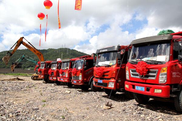 大麦屿:浙江琦星电子有限公司机器人产业园正式开工