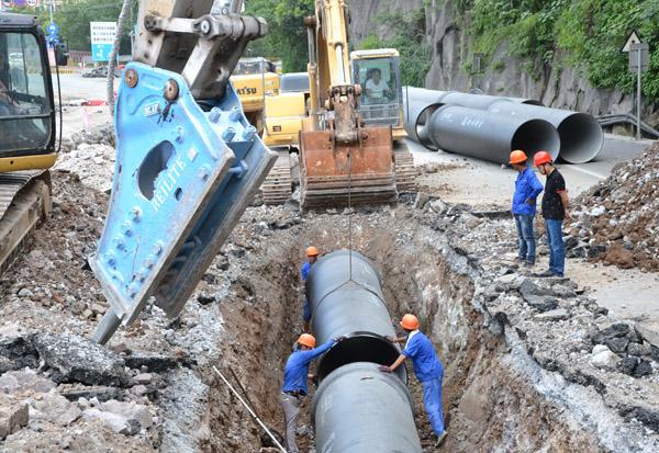 台州南部湾区引水工程战犹酣