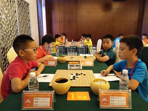 浙江省首届智力运动会五子棋项目比赛在我市举行