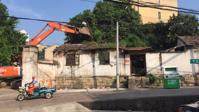 新北社区内危房拆除改造