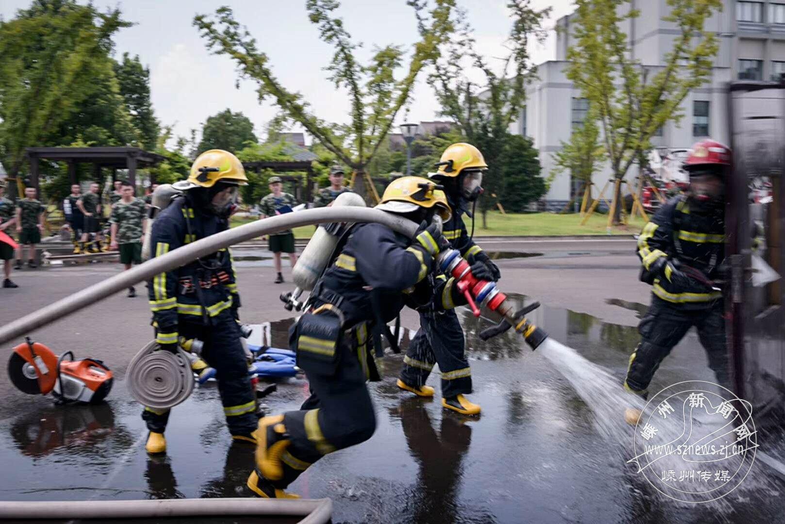 消防训练保平安