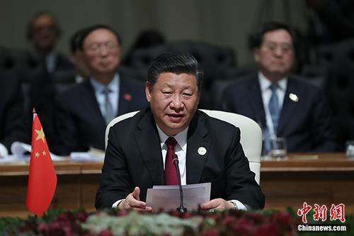 习近平出席金砖国家领导第十次会晤