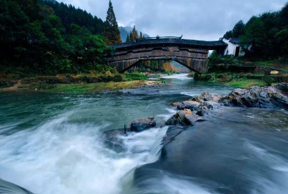 一桥一风景¦ò廊桥庆元¡ª¡ª后坑桥