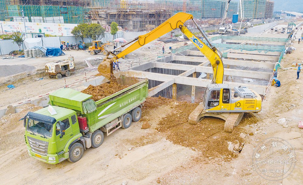 杨港路城南段隧道工程进展