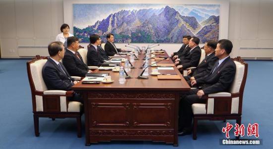 韩朝讨论试点解除板门店武装