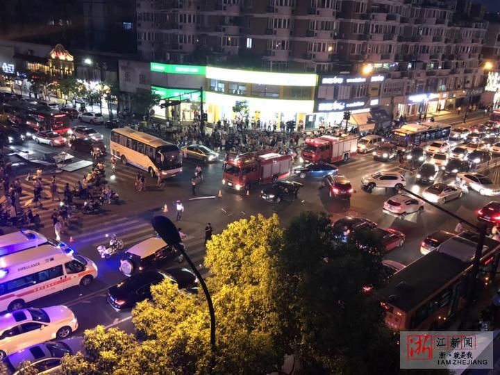 杭州城西车祸已致4人死亡13人受伤