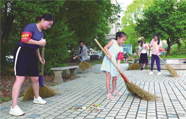 全民清洁日 助力省文明县城复评