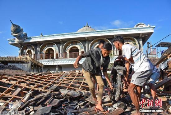 印尼龙目岛强震致142人死亡