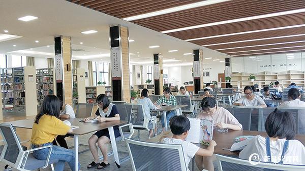 图书馆儒岙分馆暑期人气旺