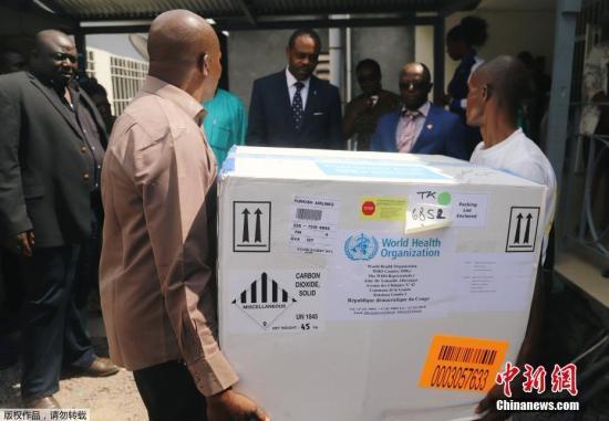 世卫组织确认埃博拉新疫情毒株