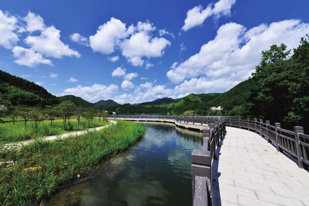 """""""十里云河""""美丽风景线"""