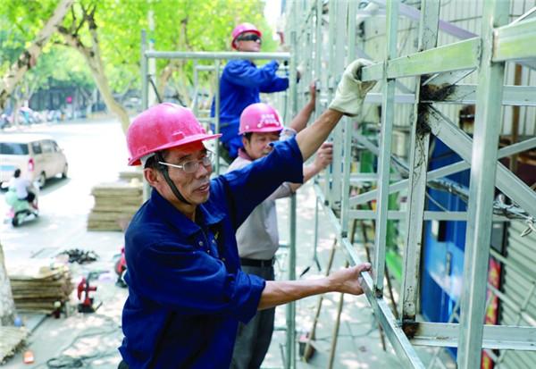 县城兴龙路街景改造工程