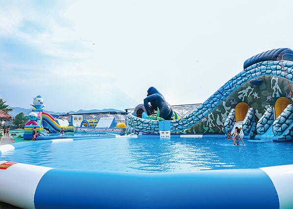 炎炎夏日,渔歌小镇水上乐园等你来玩