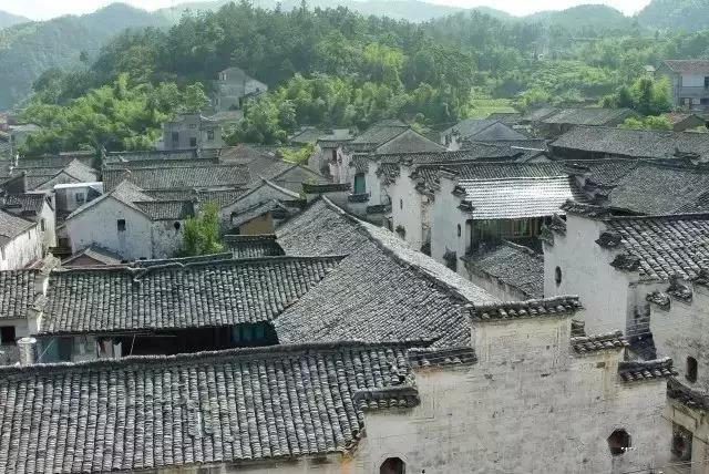 竹溪村:山间竹林的古村
