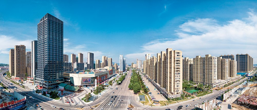 城南新区建设现代化宜居新城